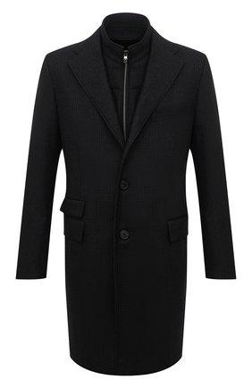 Мужской шерстяное пальто CORNELIANI темно-серого цвета, арт. 881581-1812219/00 | Фото 1
