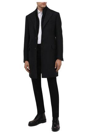 Мужской шерстяное пальто CORNELIANI темно-серого цвета, арт. 881581-1812219/00 | Фото 2