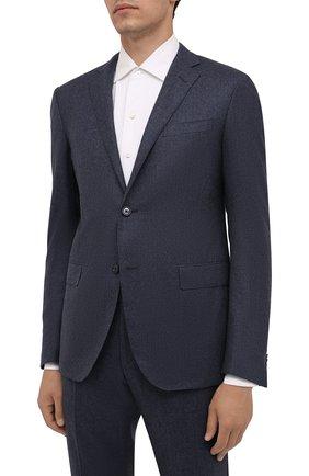 Мужской шерстяной костюм CORNELIANI синего цвета, арт. 887230-1818111/92 Q1 | Фото 2