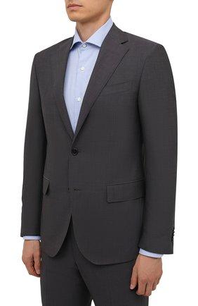 Мужской шерстяной костюм CORNELIANI темно-серого цвета, арт. 887268-1818414/92 Q1 | Фото 2