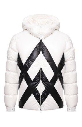 Мужская пуховая куртка madawaska MONCLER белого цвета, арт. G2-091-1A001-54-595MX | Фото 1 (Материал утеплителя: Пух и перо; Материал подклада: Синтетический материал; Материал внешний: Синтетический материал; Длина (верхняя одежда): Короткие; Рукава: Длинные; Кросс-КТ: Куртка; Мужское Кросс-КТ: пуховик-короткий; Стили: Кэжуэл)