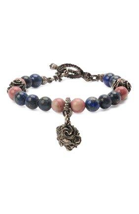 Женский браслет ангелы и демоны GL JEWELRY серебряного цвета, арт. PB650 | Фото 1