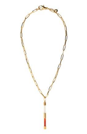 Женское колье CRYSTALLINE JEWELLERY золотого цвета, арт. 509М | Фото 1