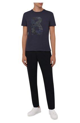 Мужские брюки BOGNER темно-синего цвета, арт. 18483283 | Фото 2