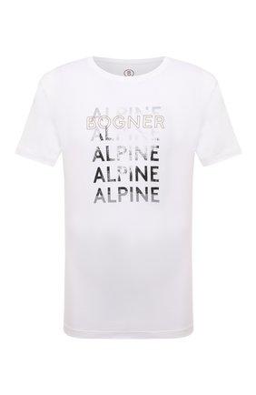 Мужская хлопковая футболка BOGNER белого цвета, арт. 58526604 | Фото 1