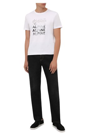 Мужская хлопковая футболка BOGNER белого цвета, арт. 58526604 | Фото 2