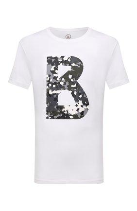 Мужская хлопковая футболка BOGNER белого цвета, арт. 58516604 | Фото 1