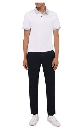 Мужские брюки BOGNER темно-синего цвета, арт. 18416869 | Фото 2