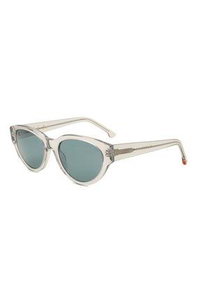 Женские солнцезащитные очки LORO PIANA серого цвета, арт. FAL4776 | Фото 1 (Тип очков: С/з)