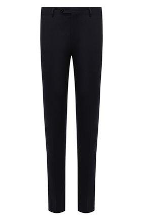 Мужские шерстяные брюки CORNELIANI темно-синего цвета, арт. 885B01-1817226/02 | Фото 1
