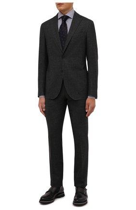 Мужской шерстяной костюм CORNELIANI темно-серого цвета, арт. 88N700-1817401/00 | Фото 1