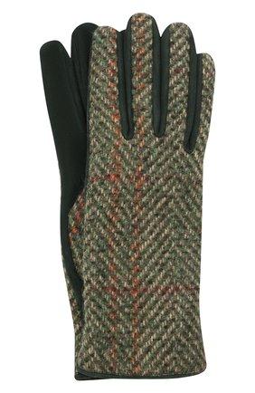 Женские перчатки LORO PIANA зеленого цвета, арт. FAL7941 | Фото 1