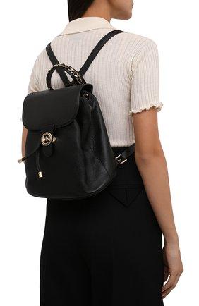 Женский рюкзак mila large MICHAEL MICHAEL KORS черного цвета, арт. 30T1G4MB3L | Фото 2