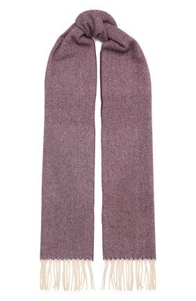 Мужской шерстяной шарф ETON бордового цвета, арт. A000 30132   Фото 1