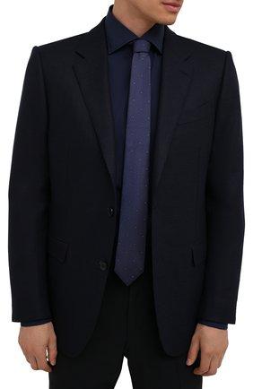 Мужской шелковый галстук ETON темно-синего цвета, арт. A000 32546   Фото 2