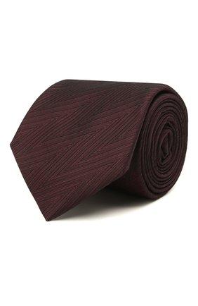 Мужской шелковый галстук ETON бордового цвета, арт. A000 32661   Фото 1