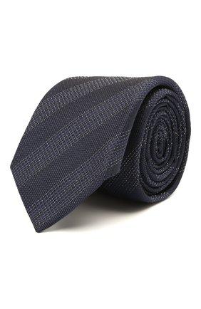 Мужской шелковый галстук ETON темно-синего цвета, арт. A000 32662   Фото 1