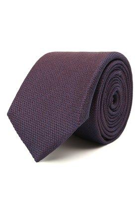 Мужской шелковый галстук ETON фиолетового цвета, арт. A000 32665   Фото 1
