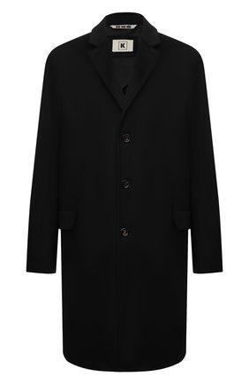 Мужской кашемировое пальто KIRED черного цвета, арт. WR0MAW6818022001/62-74 | Фото 1