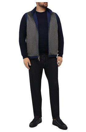 Мужской кашемировый жилет KIRED серого цвета, арт. WGANGEW6818003000/62-74 | Фото 2