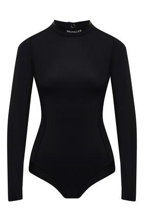 Женское боди MONCLER черного цвета, арт. G2-093-8N000-02-899G8 | Фото 1