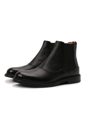 Мужские кожаные челси nimir BALLY черного цвета, арт. NIMIR/140 | Фото 1 (Подошва: Плоская; Материал внутренний: Натуральная кожа; Мужское Кросс-КТ: Сапоги-обувь, Челси-обувь)