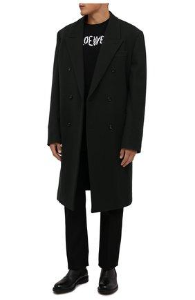 Мужские кожаные челси nimir BALLY черного цвета, арт. NIMIR/140 | Фото 2 (Подошва: Плоская; Материал внутренний: Натуральная кожа; Мужское Кросс-КТ: Сапоги-обувь, Челси-обувь)