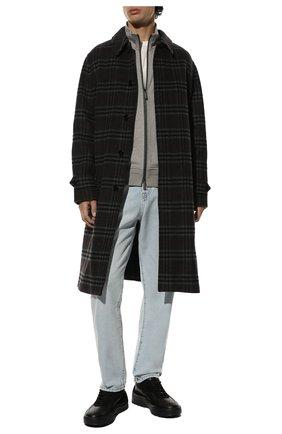 Мужские комбинированные кроссовки gumboy VALENTINO черного цвета, арт. WY2S0B17/QSM | Фото 2