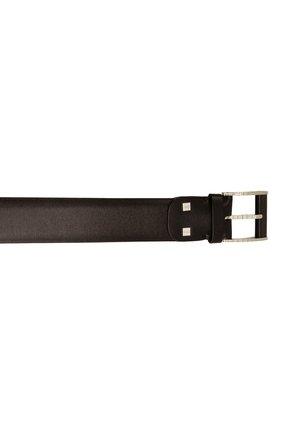 Мужской кожаный ремень ZILLI темно-коричневого цвета, арт. MJL-CLAQE-01030/0082/120-130 | Фото 4 (Случай: Формальный)