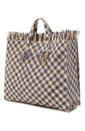 Детская сумка BONPOINT синего цвета, арт. E19ESKALI(470)_495983   Фото 2 (Материал: Растительное волокно)