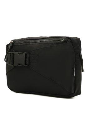Детская поясная сумка DSQUARED2 черного цвета, арт. DQ0455-D005T   Фото 2 (Материал: Текстиль)
