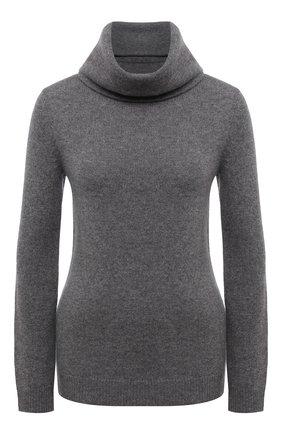 Женский кашемировый свитер POLO RALPH LAUREN светло-серого цвета, арт. 211679249 | Фото 1