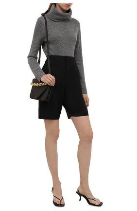 Женский кашемировый свитер POLO RALPH LAUREN светло-серого цвета, арт. 211679249 | Фото 2