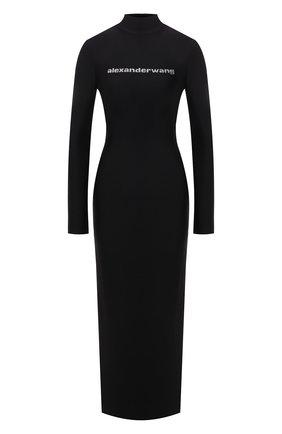 Женское платье ALEXANDER WANG черного цвета, арт. 1CC3216414   Фото 1