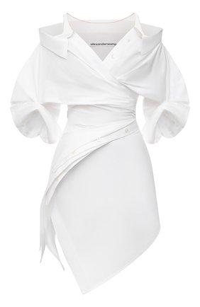 Женское платье ALEXANDER WANG белого цвета, арт. 1WC3216385   Фото 1