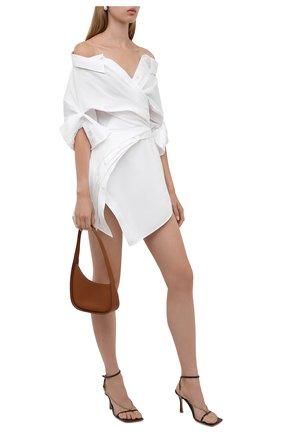 Женское платье ALEXANDER WANG белого цвета, арт. 1WC3216385   Фото 2