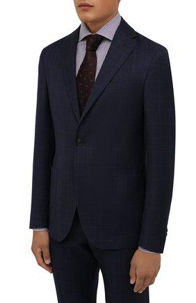 Мужской шерстяной костюм CORNELIANI темно-синего цвета, арт. 88N700-1817404/00 | Фото 2