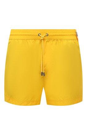 Мужские плавки-шорты DOLCE & GABBANA желтого цвета, арт. M4B39T/FUSFW | Фото 1 (Мужское Кросс-КТ: плавки-шорты; Материал внешний: Синтетический материал; Принт: Без принта)