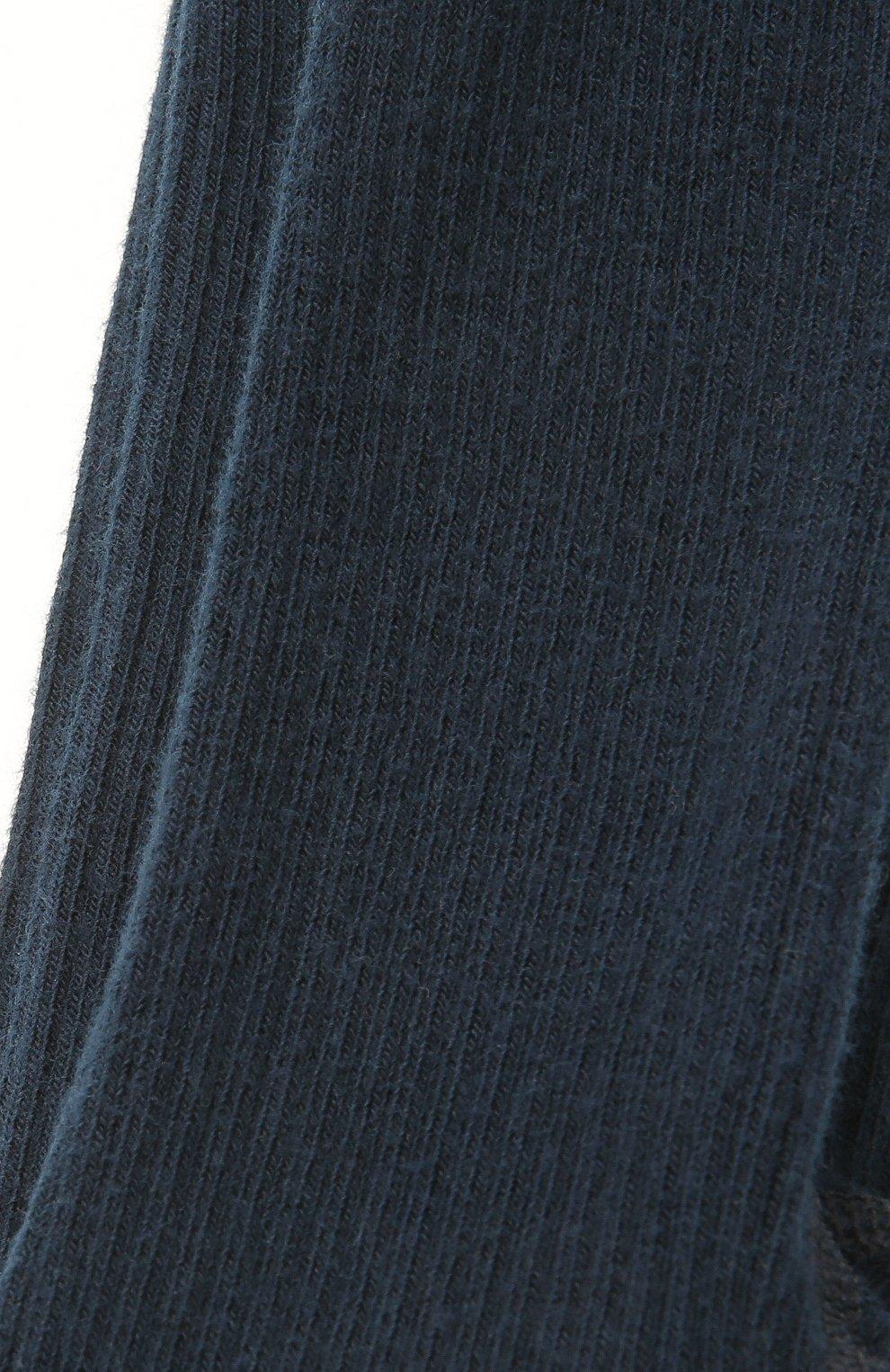 Детские хлопковые колготки BONPOINT темно-зеленого цвета, арт. PEBFVCOTF(070)_435607   Фото 2 (Материал: Текстиль, Хлопок)