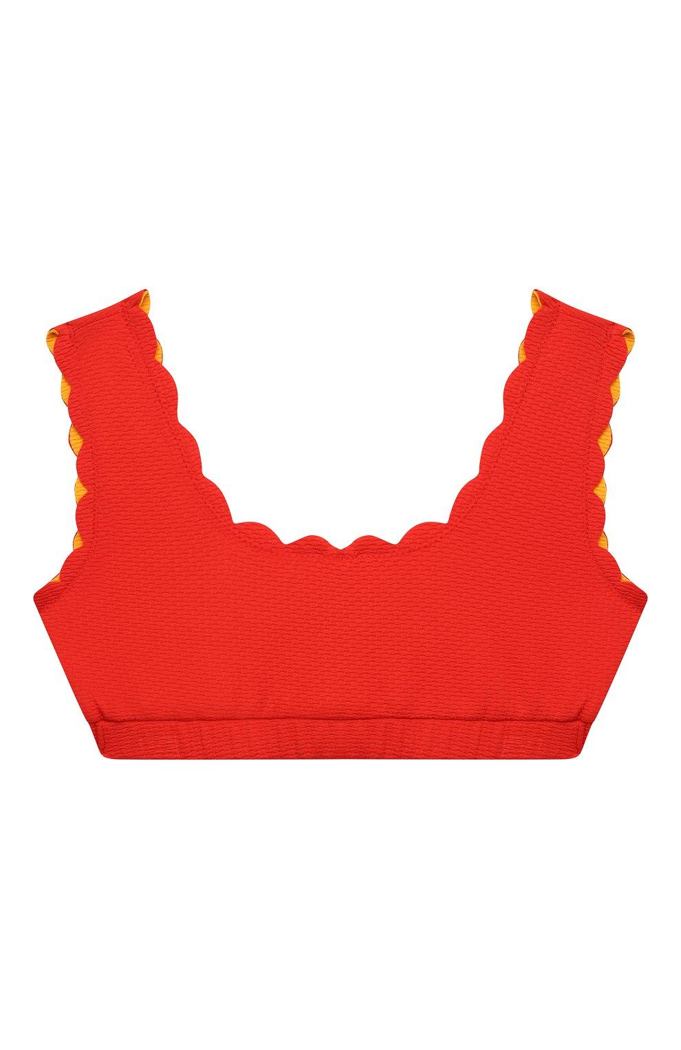 Мужского бра-топ MARYSIA BUMBY красного цвета, арт. BT032R | Фото 1