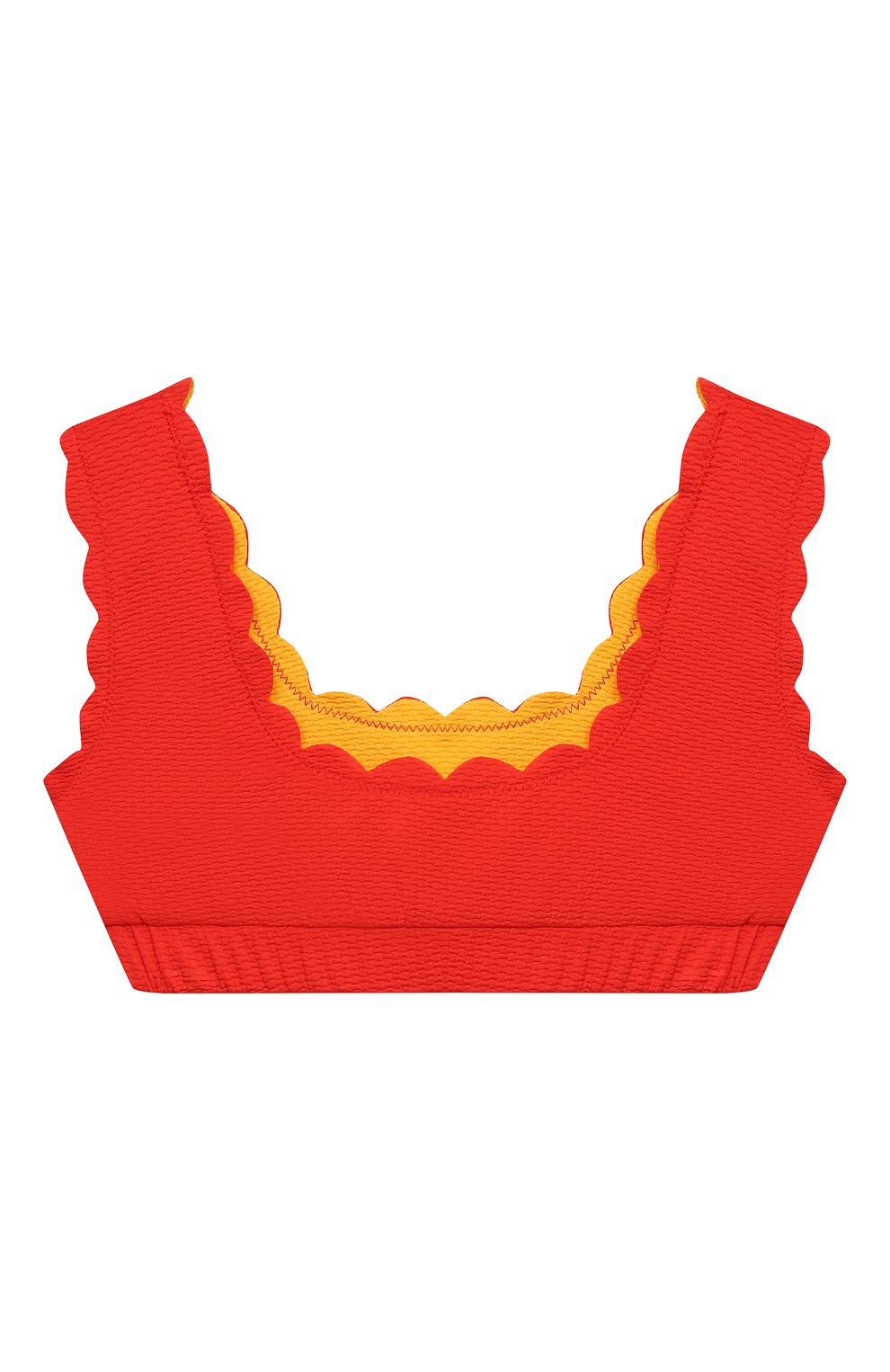 Мужского бра-топ MARYSIA BUMBY красного цвета, арт. BT032R | Фото 2