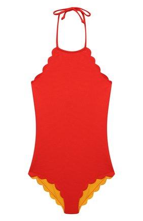 Детского слитный купальник MARYSIA BUMBY красного цвета, арт. B0074R | Фото 1