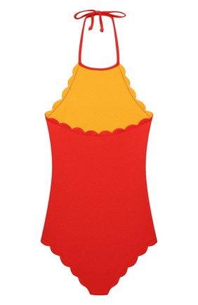 Детского слитный купальник MARYSIA BUMBY красного цвета, арт. B0074R | Фото 2