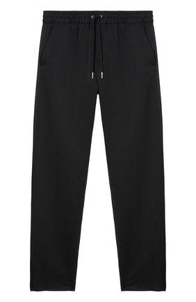 Мужские брюки BURBERRY черного цвета, арт. 8041446/127027 | Фото 1