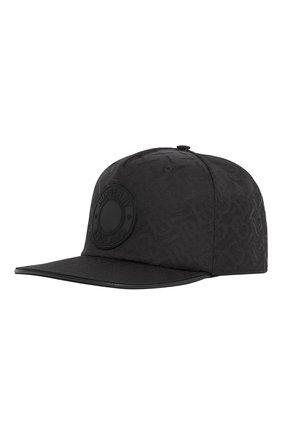 Мужской бейсболка BURBERRY черного цвета, арт. 8041633/128143 | Фото 2