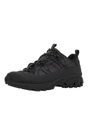 Мужские комбинированные кроссовки arthur BURBERRY темно-серого цвета, арт. 8042584/129575 | Фото 1