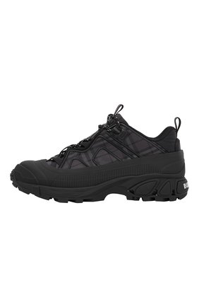 Мужские комбинированные кроссовки arthur BURBERRY темно-серого цвета, арт. 8042584/129575 | Фото 2