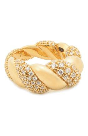 Женское кольцо BOTTEGA VENETA белого цвета, арт. 665858/VB0B6 | Фото 1