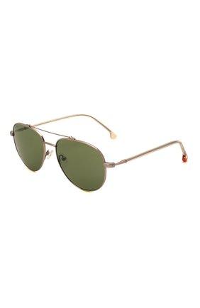 Мужские солнцезащитные очки LORO PIANA светло-зеленого цвета, арт. FAI4926 | Фото 1 (Тип очков: С/з; Оптика Гендер: оптика-мужское; Очки форма: Авиаторы)