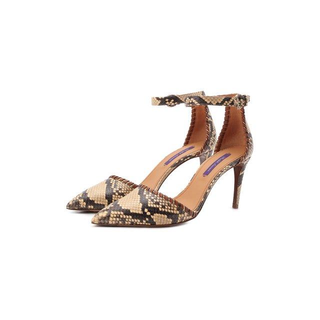 Кожаные туфли Claryn Ralph Lauren